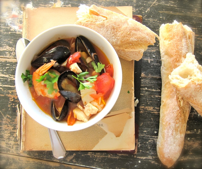 Bouillabaisse on the Beach