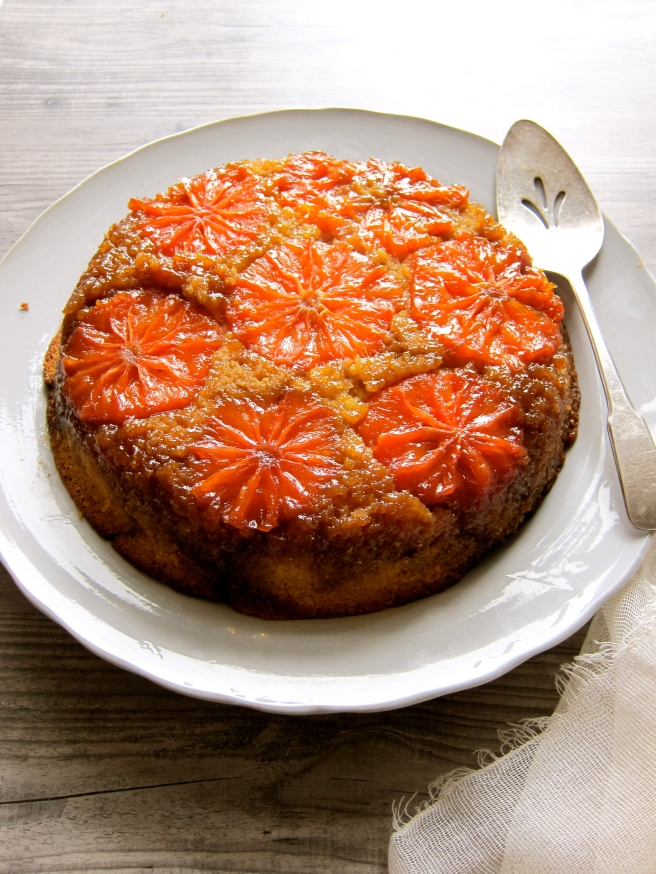 Rio Star Grapefruit Upside-Down Cake