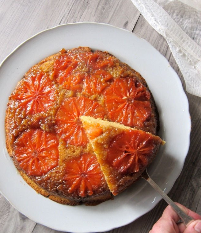 Rio Star Grapefruit Upside Down Cake