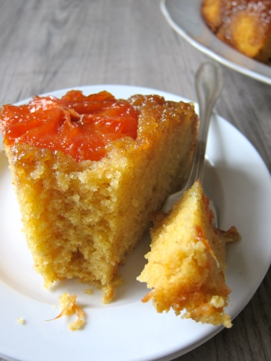 Rio Star Upside-Down Cake