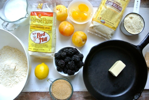 Ingredients for Upside Down Cake