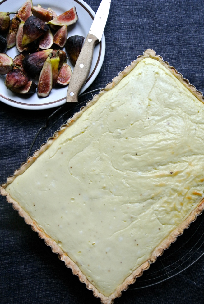 Baked Goat Cheese Tart