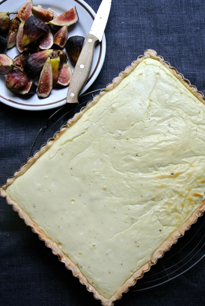 Baked Goat Cheese Tart