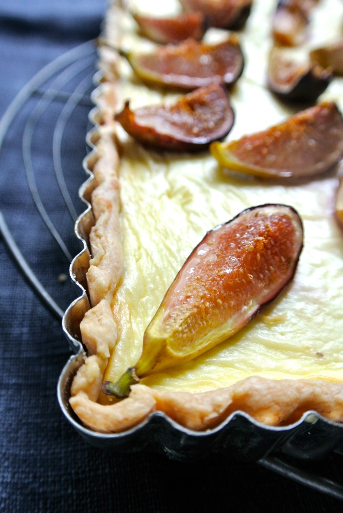 Fig & Goat Cheese Tart
