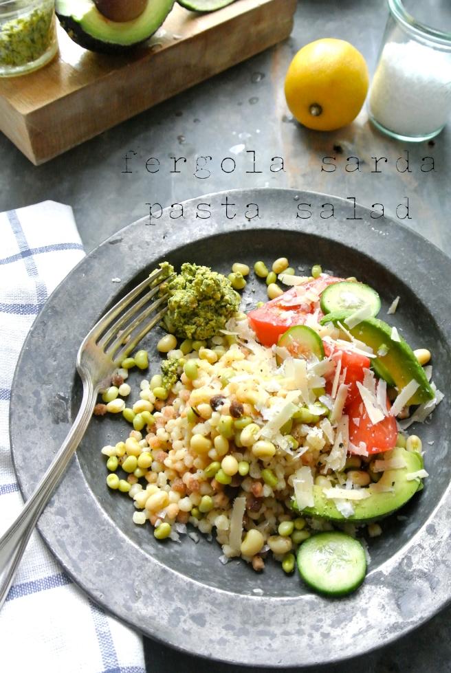 fergola sarda pasta salad
