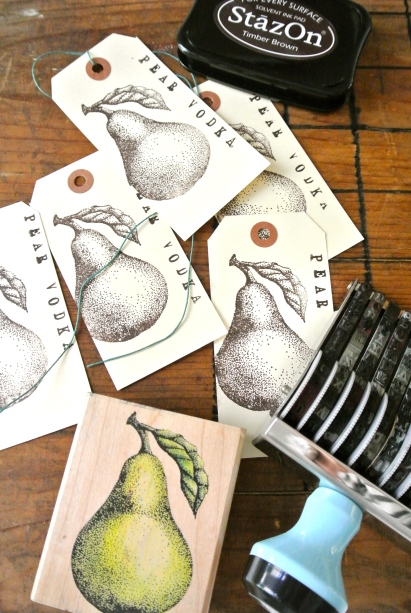 Tags, stamps & ink