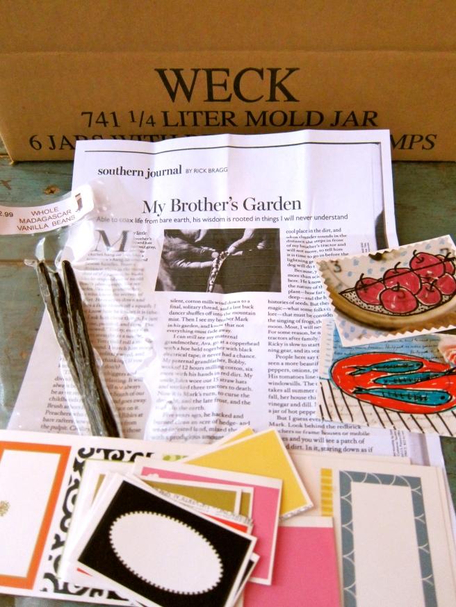Rick Bragg Story, Vanilla, Little Art Pieces
