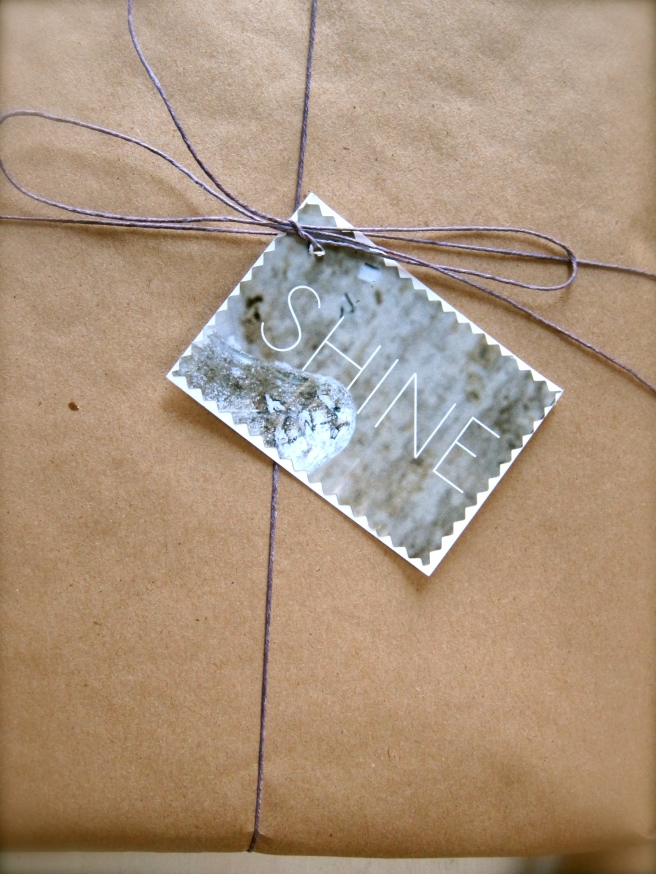 Brown Paper & Twine Wrapping
