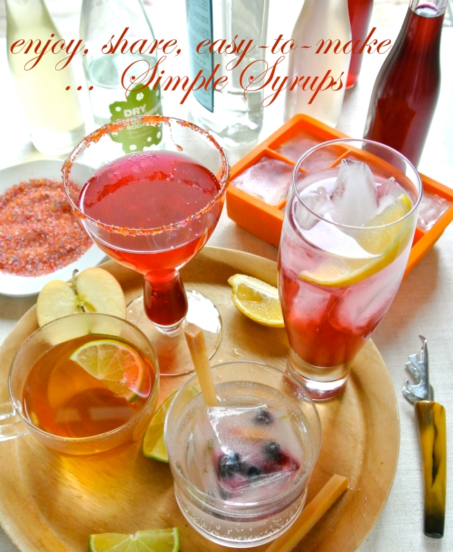 cocktails with simple syrups