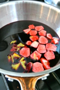 Beet Juice & Ginger Simple Syrup
