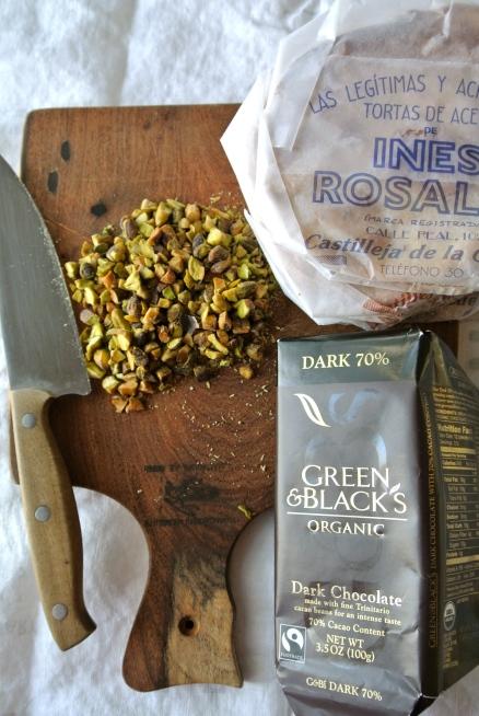 Ines Rosales Tortas, Chocolate & Pistachios