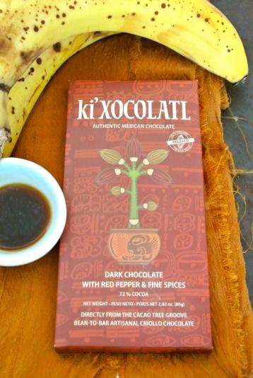 Chocolate, Bananas, Vanilla