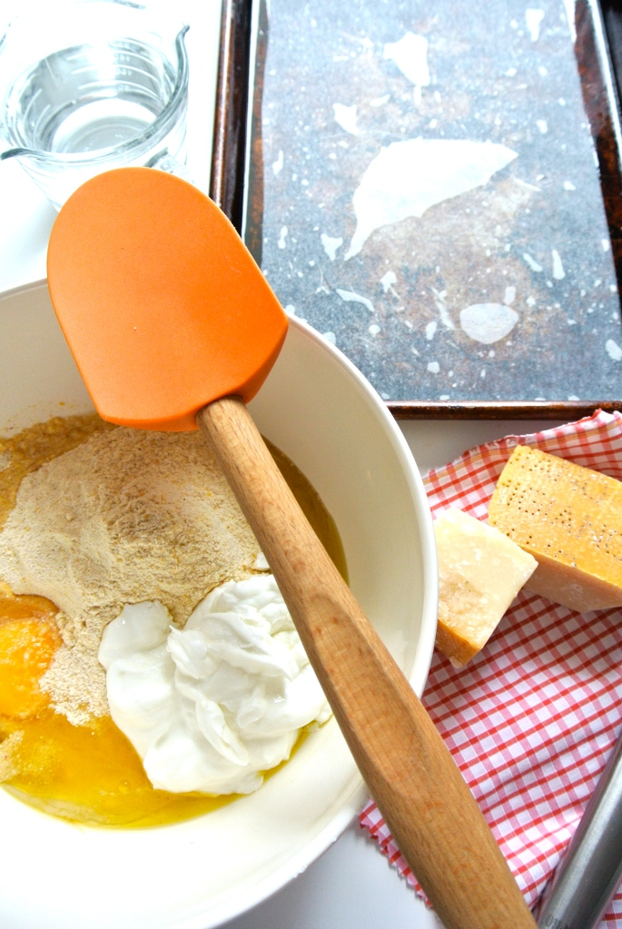 ingredients for cornbread croutons