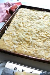 Parmesan Cornbread Croutons