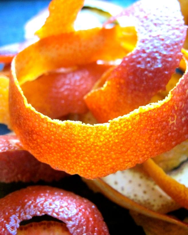Blood Orange Peel