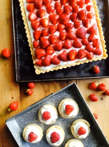 Thursday, May 15th, Photo Shoot Strawberry Tarts for Relish Magazine