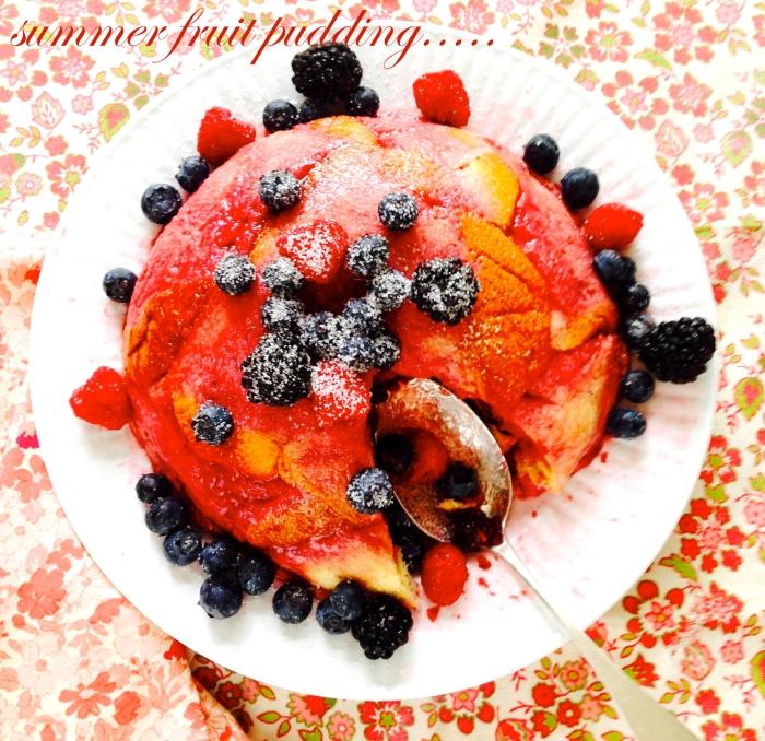 summer fruit pudding