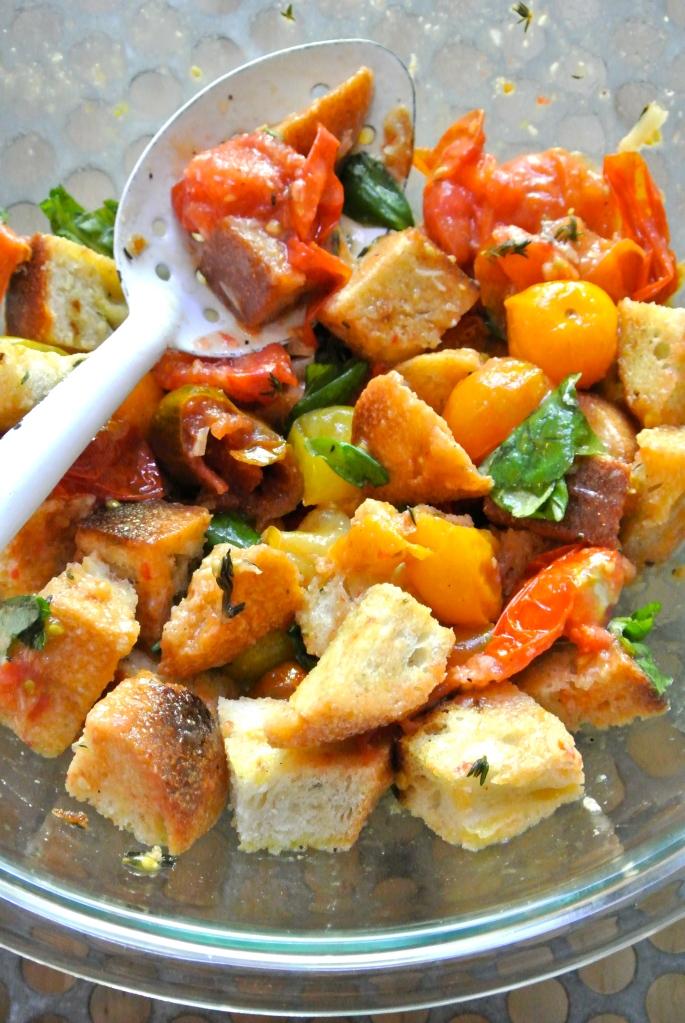 Roasted Tomato & Bread Salad