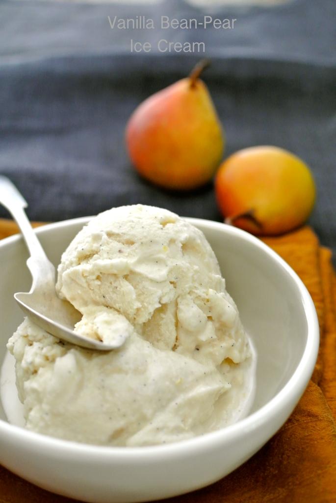 pear ice cream