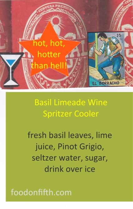 Limeade cooler