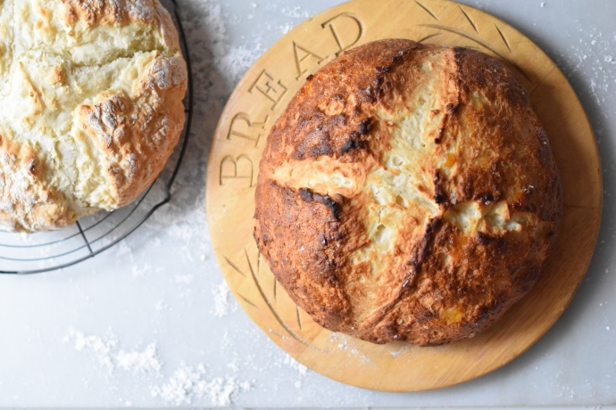 A Sweet A Savory Irish Soda Bread One Recipe Two Loaves Food On Fifth